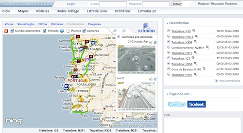 Estradas website goes agile and delivers live traffic updates to Portugal