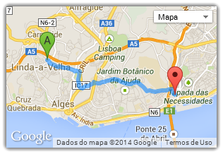 Embeddable Google map powered by GeoLocation, one of the top html5 features