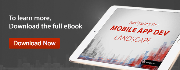 Download the Mobile App Dev Landscape eBook