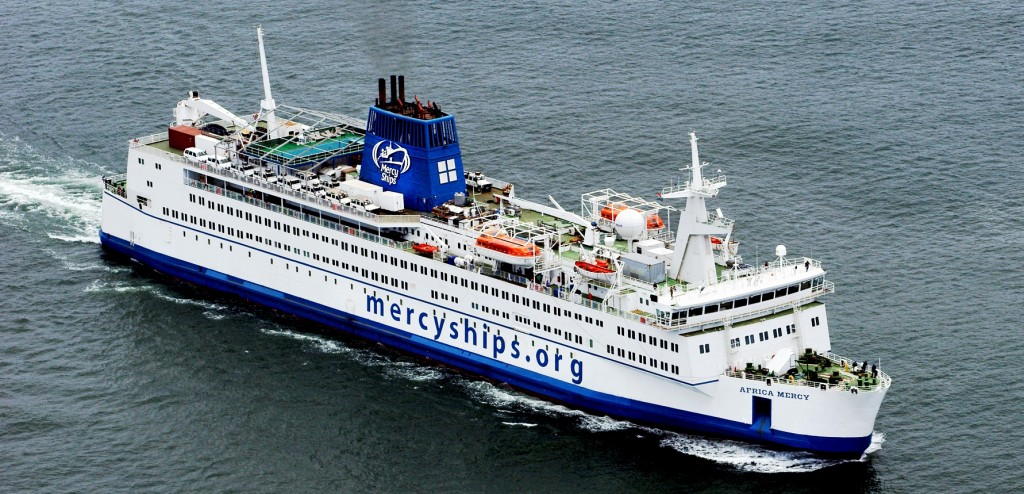 Mercy Ships is a non-profit organization serving developing countries all over the globe.