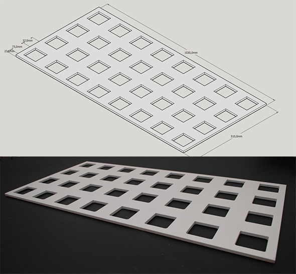 Panel Design and MDF Prototype