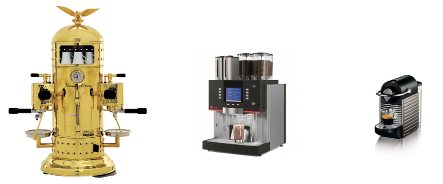 IT complexity coffee makers