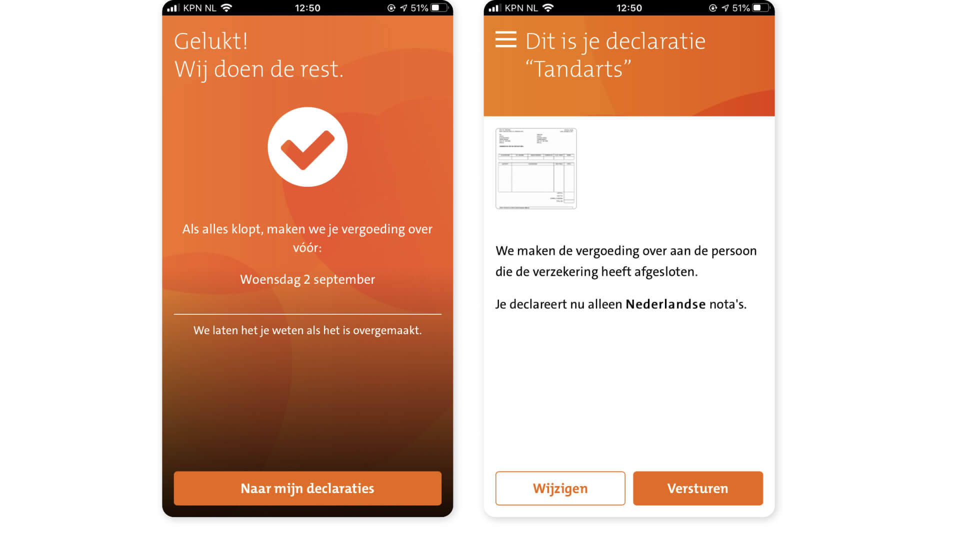CZ Health Insurance - Declareren – Mobile Claims Submission app