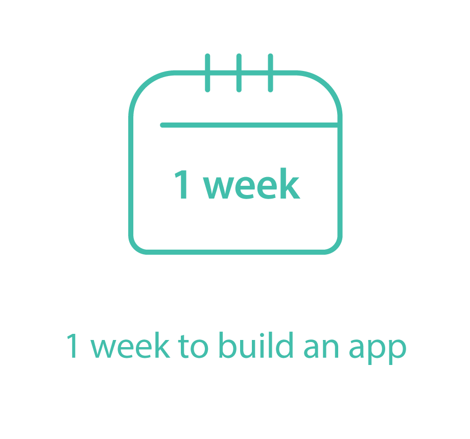 1 week to build an app