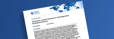 IDC - Low-code App Platforms