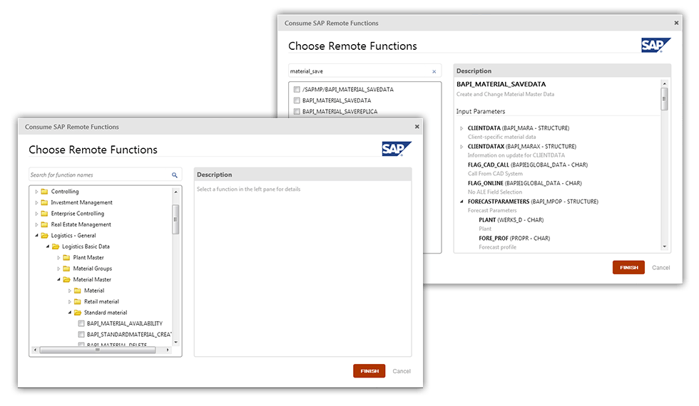 OutSystems Connector for SAP | Core Products | OutSystems