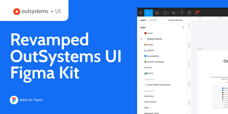 Revamped OutSystems UI Figma Kit