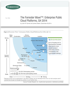 The Forrester Wave™: Enterprise Public Cloud Platforms Report