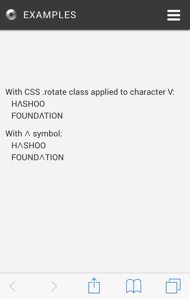 Upside Down Characters Outsystems