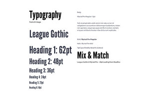 How a Live Style Guide Improves Your Project - Typography