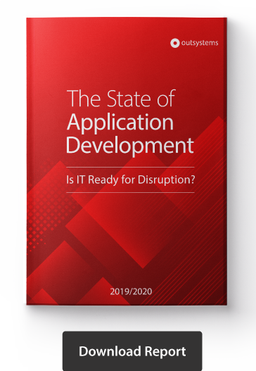 Agile adoption - State of App Dev report