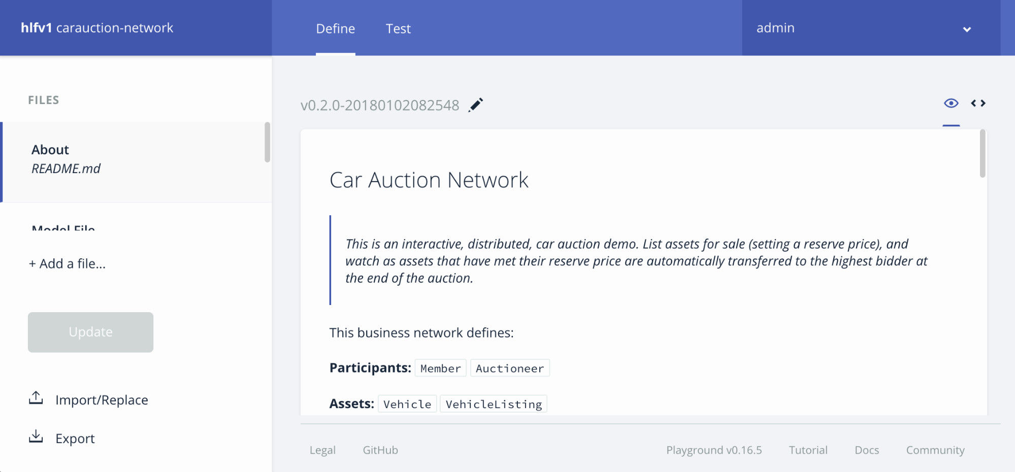 Car auction network after publication
