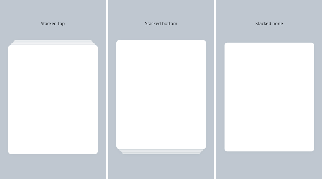 Gestures Glamour: How To Set Up Swipeable Stacked Cards