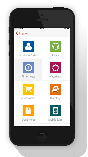 OutSystems Now shows all your internal mobile apps in iOS and Android.