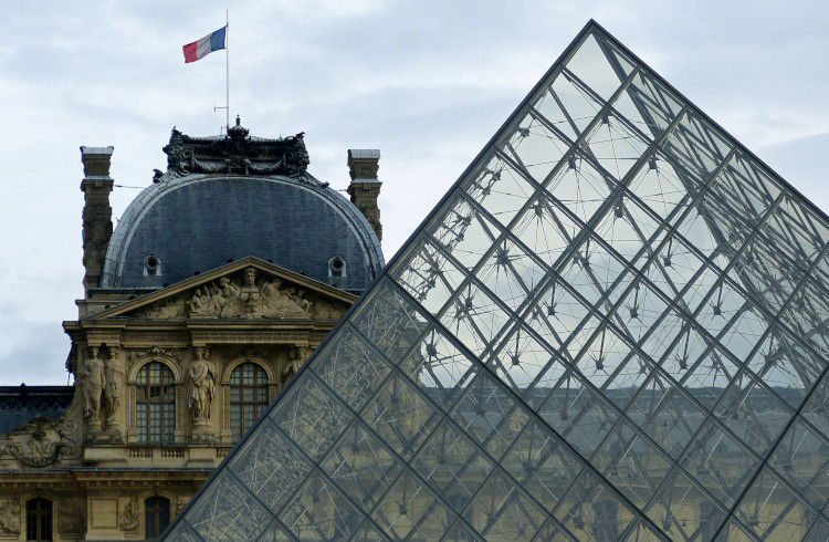 The Louvre - The Old and the New