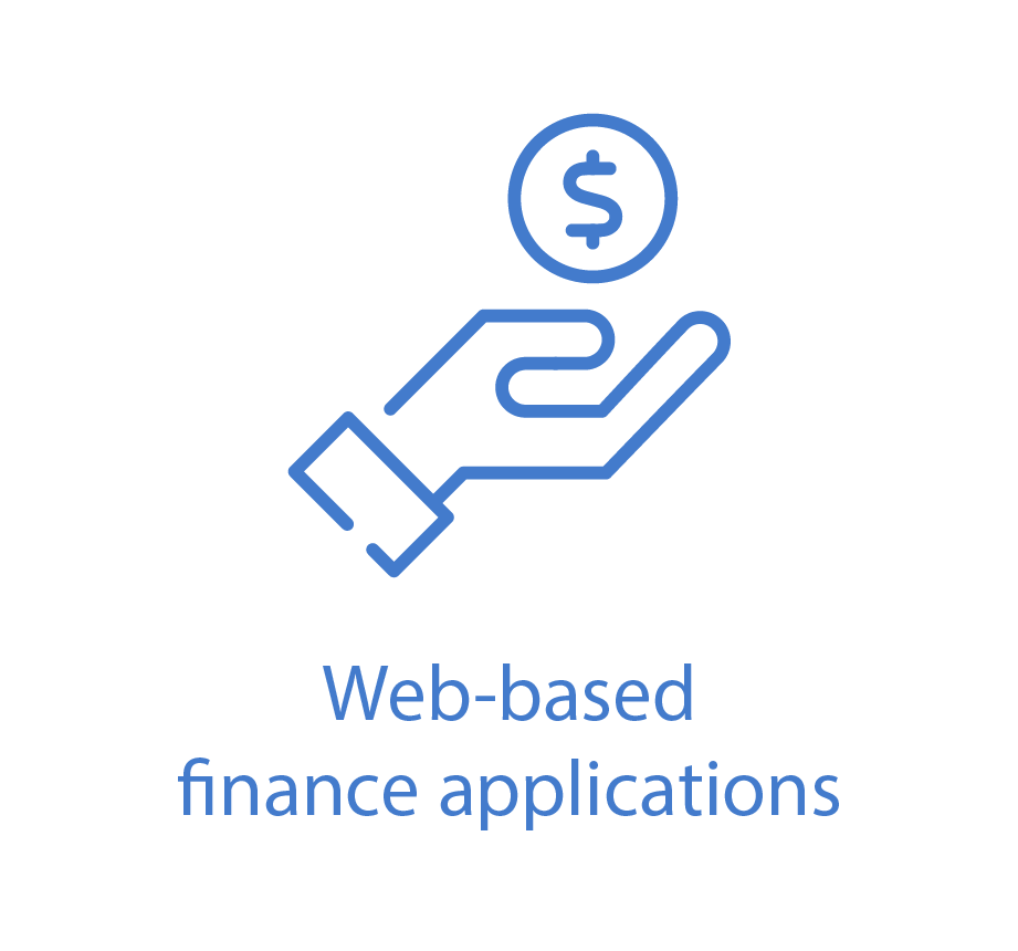 Web-based finance applications