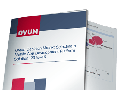 MADP - Ovum Decision Matrix
