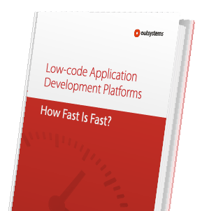 Low-code Application Platforms - How Fast is Fast