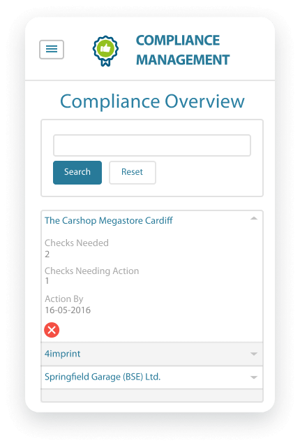 ISB Smart Solutions - Compliance Management App